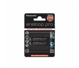 Panasonic Eneloop Pro R03/AAA 930mAh (2 szt.) Blister (BK-4HCDE-2BE)