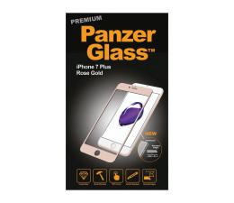 PanzerGlass Szkło Curved Edges Prem iPhone 7/8 Plus Rosegold (5711724026072 / 2607)