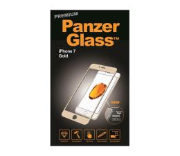PanzerGlass Szkło Curved Edges Premium do iPhone 7/8 Gold  (5711724026027 / 2602)