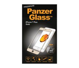 PanzerGlass Szkło Curved Edges Premium iPhone 7/8 Plus Gold (5711724026065 / 2606)