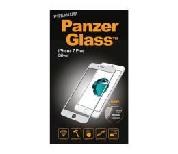 PanzerGlass Szkło Curved Edges Premium iPhone 7/8 Plus Silver (5711724026058 / 2605)