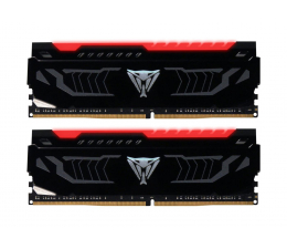 Patriot 16GB 2400MHz Viper Red LED CL14 (2x8GB) (PVLR416G240C4K)