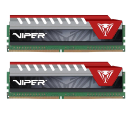 Patriot 8GB 2400MHz  Viper Elite  Czerwone (2x4GB) (PVE48G240C5KRD )