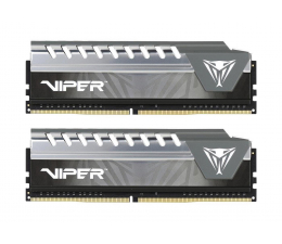 Patriot 8GB 2666MHz Viper Elite Gray CL16 (2x4GB) (PVE48G266C6KGY)