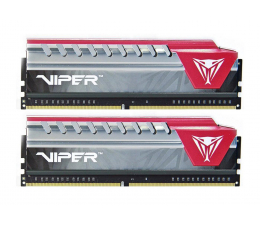 Patriot 8GB 2800MHz Viper Elite Red CL16 (2x4GB) (PVE48G280C6KRD)