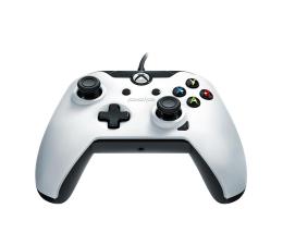 PDP Xbox One Controller - White (przewodowy)  (048-082-EU-WH01)