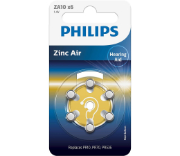 Philips Do aparatów słuchowych 6szt 13 (ZA10B6A/10)
