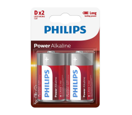 Philips Power Alkaline D LR20 (2szt) (LR20P2B/10)