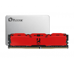 "Plextor 128GB 2,5"" SATA S3C TLC + 8GB 3000MHz IRDM X RED"