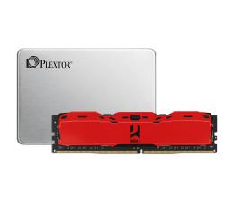 Plextor 128GB 2,5'' SATA SSD M7VC + 8GB 3000MHz IRDM X RED