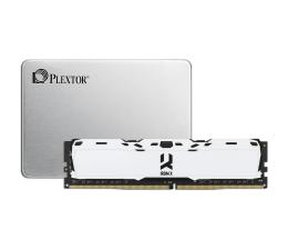 Plextor 128GB 2,5'' SATA SSD M7VC + 8GB 3000MHz IRDM X W
