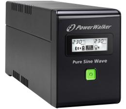 Power Walker VI 800 SW/IEC (800VA/480W) 3xIEC USB LCD (VI 800 SW IEC)