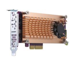 QNAP QM2-2P-384 (2x SSD M.2 22110/2280 NVMe)  (QM2-2P-384 (PCIe Gen3 x8) )