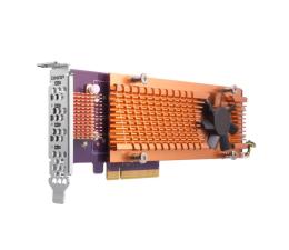 QNAP QM2-4P-342 (4x SSD M.2 2280 NVMe)  (QM2-4P-342 (PCIe Gen3 x4) )