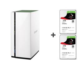 QNAP TS-228A (2xHDD, 4x1.4GHz, 1GB, 3xUSB, 1xLAN)  (TS-228A 6TB (2x ST3000VN007 IronWolf))