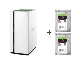 QNAP TS-228A (2xHDD, 4x1.4GHz, 1GB, 3xUSB, 1xLAN)  (TS-228A 8TB (2x ST4000VN008 IronWolf))