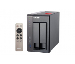 QNAP TS-251+-2G (2xHDD, 4x2-2.42GHz, 2GB, 4xUSB, 2xLAN) (TS-251+-2G)