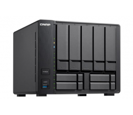 QNAP TVS-951X-8G (9xHDD, 2x1.8GHz, 8GB, 3xUSB,2xLAN)  (TVS-951X-8G)