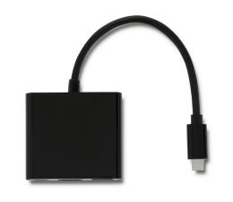 Qoltec Adapter USB-C - HDMI, USB, USB-C (50430)