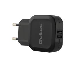 Qoltec Ładowarka Sieciowa 2 x USB 3,4A 17W (50186)
