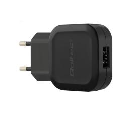 Qoltec Ładowarka Sieciowa 2.4A 12W + USB-C (50184)