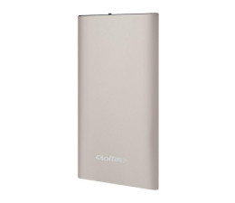 Qoltec Power Bank Slim 4000 mAh Li-polimerowa złoty (51983)