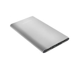 Qoltec Power Bank Slim 4000 mAh USB 2.1A + 1A (51982)