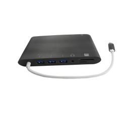 Qoltec Stacja dokująca USB 3.1 CM/3xUSB 3.0AF|SD|PD (50411)