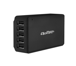 Qoltec Stacja Quick Charge | 5 x USB | max 8A (50038)