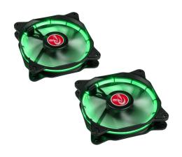 Raijintek Auras 120mm zielony (2Pack)  (0R400036)