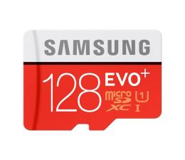 Samsung 128GB microSDXC Evo+ zapis 20MB/s odczyt 80MB/s  (MB-MC128DA/EU)