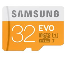 Samsung 32GB microSDHC Evo odczyt 48MB/s + czytnik USB 2.0 (MB-MP32DC/EU)
