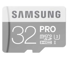 Samsung 32GB microSDHC Pro zapis 80MB/s odczyt 90MB/s  (MB-MG32EA/EU)
