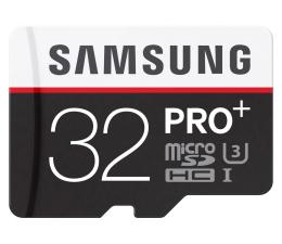 Samsung 32GB microSDHC Pro+ zapis 90MB/s odczyt 95MB/s (MB-MD32DA/EU)