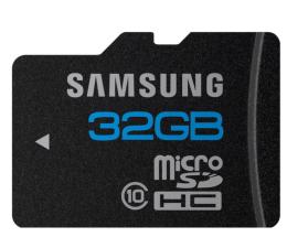 Samsung 32GB microSDHC Standard Class10 (MB-MSBGA/EU)