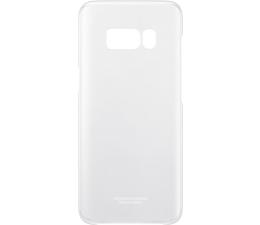 Samsung Clear Cover do Galaxy S8+ srebrny (EF-QG955CSEGWW)