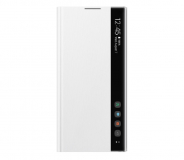 Samsung Clear View Cover do Galaxy Note 10+ biały (EF-ZN975CWEGWW)