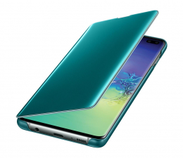 Samsung Clear View Cover do Galaxy S10+ zielony (EF-ZG975CGEGWW)