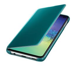 Samsung Clear View Cover do Galaxy S10e zielony (EF-ZG970CGEGWW)