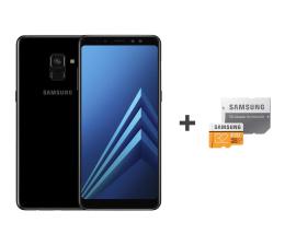 Samsung Galaxy A8 A530F 2018 Dual SIM LTE Black + 32GB (SM-A530FZKDXEO+MB-MP32GA/EU)