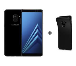 Samsung Galaxy A8 A530F 2018 Dual SIM LTE Black + etui (SM-A530FZKDXEO+etui)