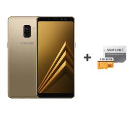 Samsung Galaxy A8 A530F 2018 Dual SIM LTE Gold + 32GB (SM-A530FZDDXEO+MB-MP32GA/EU)