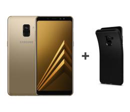 Samsung Galaxy A8 A530F 2018 Dual SIM LTE Gold + etui (SM-A530FZDDXEO+etui)