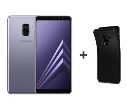 Samsung Galaxy A8 A530F 2018 Dual SIM LTE Orchid Gray+etui (SM-A530FZVDXEO+etui)