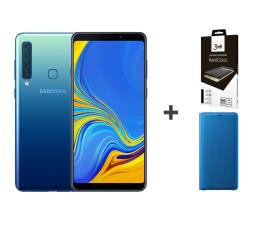 Samsung Galaxy A9 SM-A920F 2018 6/128GB Blue + ZESTAW (SM-A920FZBDXEO+ZESTAW)