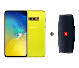 Samsung Galaxy S10e G970F Prism Yellow + JBL CHARGE 4 (SM-G970FZYDXEO+JBL)