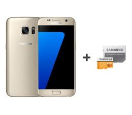 Samsung Galaxy S7 G930F 32GB złoty + 128GB (SM-G930FZDAXEO+MB-MP128GA/EU)