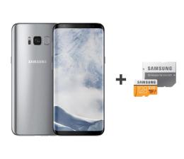 Samsung Galaxy S8 G950F Arctic Silver + 128GB (SM-G950FZSAXEO+MB-MP128GA/EU)