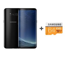 Samsung Galaxy S8 G950F Midnight Black + 64GB (SM-G950FZKAXEO+MB-MP64GA/EU)