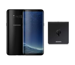 Samsung Galaxy S8 G950F Midnight Black+ładow. indukcyjna  (SM-G950FZKAXEO+ACW0050)
